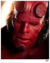 Hellboy Framed Poster Art