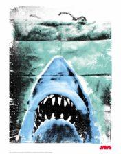 Jaws Framed Poster Art
