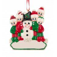 Bear Stocking Personalised Christmas Ornament Animals